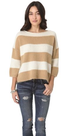 slouchy spring sweater