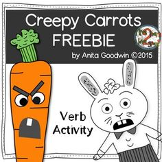 Use the book Creepy Carrots and listen for verbs that while reading. Sort the -ed ending verbs by how they sound. -t -ed or -d