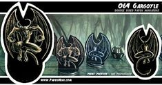 """I design """"print&play"""" miniature every week. More than 200 templates available on my patreon website. Dungeons And Dragons, My Design, Miniatures, Templates, Play, Website, Paper, Fictional Characters, Stencils"""