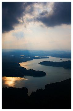 Solina Lake, Poland  IT LOOKS LIKE A DRAGON :D