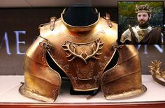 Renly Baratheon's armour by danny wild, via Flickr
