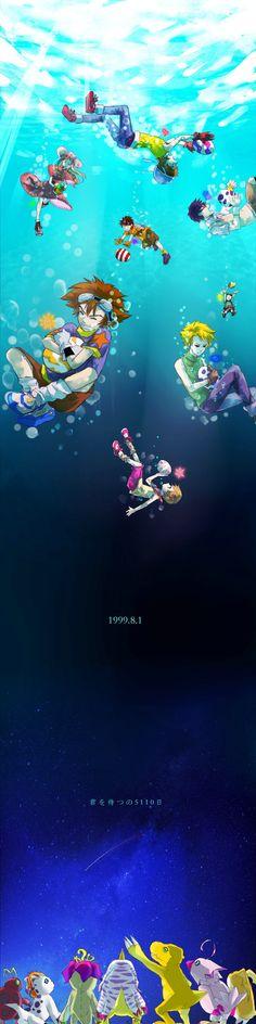 "Crunchyroll - Fan Artists Celebrate Anniversary of ""Digimon Adventure"""