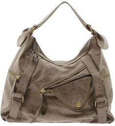 Am shopping/looking for a new purse. It always takes me forever to find one.kind of liking this one. Grey Purses, Purses And Bags, Big Buddha Bags, Athletic Women, Balenciaga City Bag, Jewelry Branding, Bucket Bag, Shoe Boots, Biker