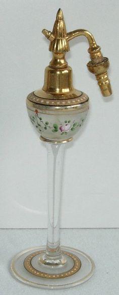 Czech Art Deco Perfume Atomizer. 1920's.