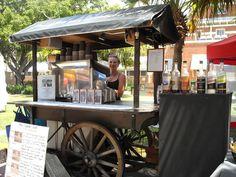 Portable coffee stall