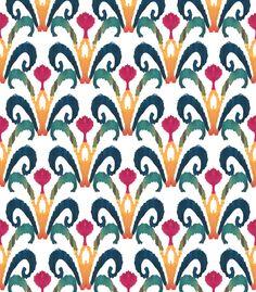 Batik Plume - Textile Design by Ptolemy Mann
