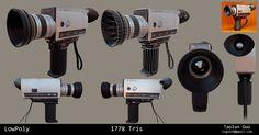 ArtStation - Super 8 Camera, Taolun Guo