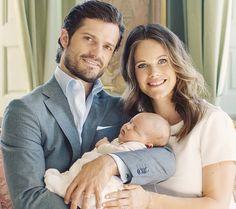 Príncipe Carlos Felipe, la princesa Sofía y Alexander nuevas fotos