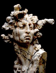 JAVIER MARIN - Medusa (The best Medusa bust I've ever seen!)