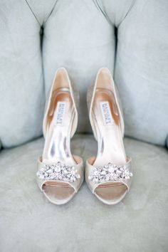 The Best Wedding Shoes of 2015 - Style Me Pretty Bridal Shoes, Wedding Shoes, Wedding Makeup, Wedding Dresses, Wedding Flowers, Pumps, Heels, Jeweled Shoes, Bride Accessories