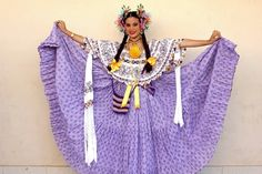 Panama Pollera Costume | Culture in Panama | Pinterest | Panama ...