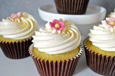 cupcake vegano alla vaniglia