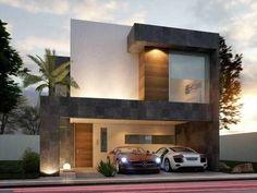 Exterior home industry. Fachada de Casa #fachadasdecasascontemporaneas
