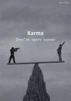 Positive Quotes : QUOTATION – Image : Quotes Of the day – Description Karma. Sharing is Power – Don't forget to share this quote ! Wisdom Quotes, True Quotes, Great Quotes, Motivational Quotes, Funny Quotes, Inspirational Quotes, Quotes Quotes, Qoutes, Karma Quotes Truths