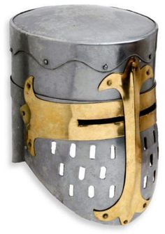 Medieval Knight Great Helmet - I have this helmet in my office.