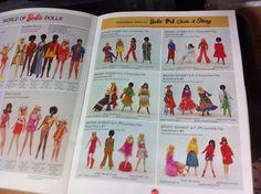 Vintage Barbie Doll Mattel Catalog Dolls 1971 | eBay