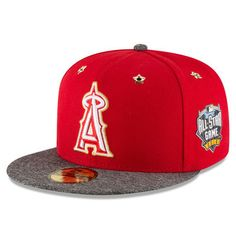 ba1eacac3 Los Angeles Angels New Era 2016 MLB All-Star Game Patch 59FIFTY Fitted Hat  - Red Heathered Gray. Sports CapsSnapback ...