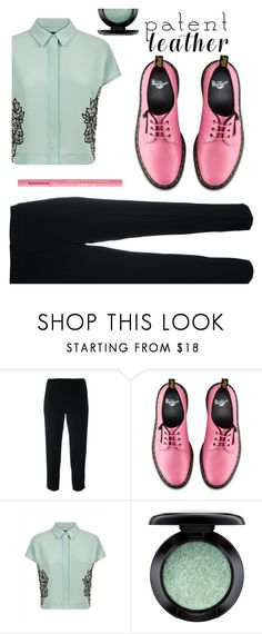 """Untitled #130"" by cool-ylichk ❤ liked on Polyvore featuring Chloé, Dr. Martens, Jaeger, MAC Cosmetics and Too Faced Cosmetics"