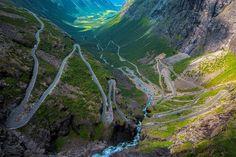 7. Droga Trolli - Norwegia