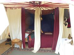 Camping - the medieval way by JuliaC2006, via Flickr