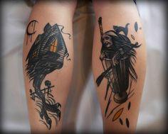 baba yaga tattoo - Google Search