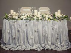 зимняя свадьба оформление стола - Поиск в Google