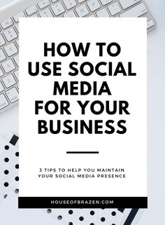 Learn how to use social media in your business in a way that doesn't drive you nuts and still helps your business succeed!
