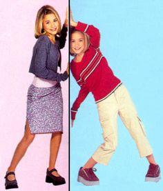 Olsen Twins Full House, Olsen Twins Style, Ashley Mary Kate Olsen, Ashley Olsen, Michelle Tanner, Merrell Twins, 90s Fashion, Fashion Outfits, Olsen Sister