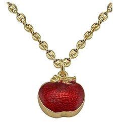 Disney Couture™ Snow White Poison Apple Necklace