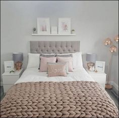 room decor pretty pink bedroom ideas for your lovely daughter page 7 The next home decor ideas will be going to be the ones you'll be wanting and needing this Summer home decor trends! Bedroom Decor For Couples Small, Small Space Bedroom, Small Room Decor, Couple Bedroom, Girls Bedroom, Bedroom Ideas For Small Rooms For Adults, White Bedroom, Pink Bedroom Design, Bedroom Designs