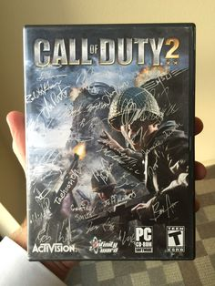 My old Call of Duty 2 my dad had signed for me by the original Infinity Ward staff. Infinity Ward, Software, Call Of Duty, Best Funny Pictures, Card Games, Dads, Signs, The Originals, Anime