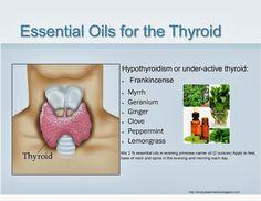 Essentially Oils: Essential Oils for Thyroid Problems