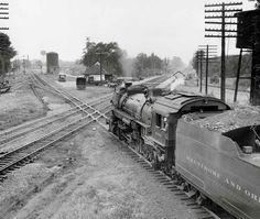 Classic railroad scene in central Ohio   Classic Trains Magazine