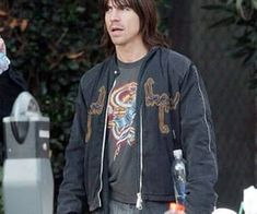 alternative, long hair, and red hot chili peppers image
