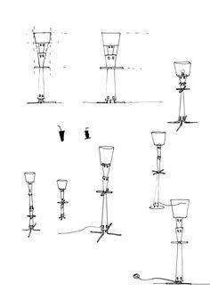 87 - Skizze - Lampe