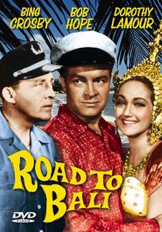 Join us February 13 for this fun romp with Bing Crosby, Bob Hope, and Dorothy Lamour from 1952.