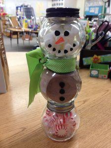 Snowman Hot Cocoa DIY Christmas Gift