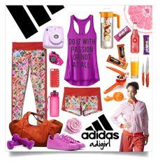 Do it with Passion!!! by ixela on Polyvore featuring moda, IXELA, Athleta, adidas, Soleus, Valentino, Artland, Food Network, Rachael Ray, Sweaty Betty and Polaroid