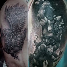 bb8b0769d Cartoon Viking Warrior Tattoo Designs | Fresh 2017 Tattoos Ideas Viking  Warrior Tattoos, Back Tattoos