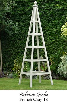 The Robinson Garden Gallery For Our Beautiful And Bespoke Wooden Obelisks With A Trellis