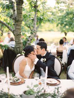 Rustic outdoor vineyard wedding: http://www.stylemepretty.com/2016/10/18/vineyard-wedding/ Photography: Brumley & Wells - http://brumleyandwells.com/