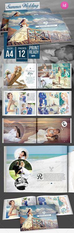 Summer Wedding Photo Album