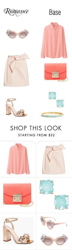 """Mix"" by mary-en ❤ liked on Polyvore featuring Uniqlo, Delpozo, Furla, Kate Spade, Boohoo, Alice + Olivia and mix"