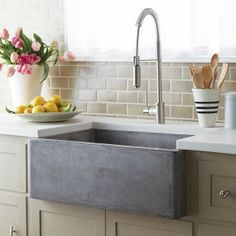Enticing Farmhouse Sink For Lovable Kitchen Inspirations ...