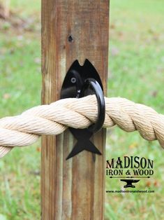 Make your nautical rope fence stand out with these unique and beautiful nautical rope fish design rings. Holds up to a rope to make your rope fence or rope handrail exceptional! Rope Fence, Rope Railing, Deck Railings, Diy Fence, Fence Ideas, Decking Ideas, Lattice Fence, Fence Art, Nautical Rope