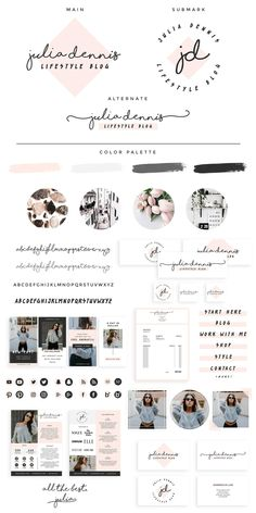 Trainer Forms Tips Printing Videos Ring Products Branding Kit, Business Branding, Business Card Design, Branding Design, Branding Ideas, Brand Identity, Business Cards, Template Web, Media Kit Template