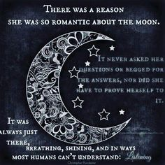 The reason she was so romantic with the moon Sun Moon Stars, My Sun And Stars, You Are My Moon, Moon Quotes, Stay Wild Moon Child, Moon Magic, Moon Lovers, Beautiful Moon, Moon Goddess