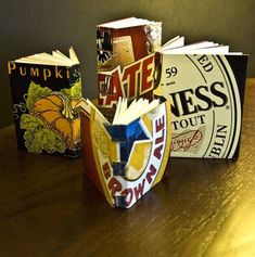 What to do with all of those cardboard beer cases after the big party?