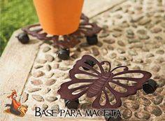 "Base para Maceta ""Mariposa Encantada"" consíguela en http://www.decoracionesrubios.com/index.php?route=product/product&path=63_82&product_id=504"