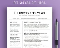 professional resume template simple resume by theresumemaker - Resume Templates For Word